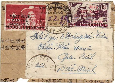 cts pavia le service postal et les timbres de la vndcch vi 234 t minh