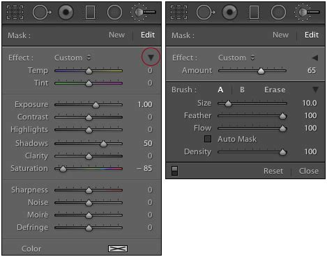 lightroom tutorial adjustment brush making changes to selective adjustment s effects in