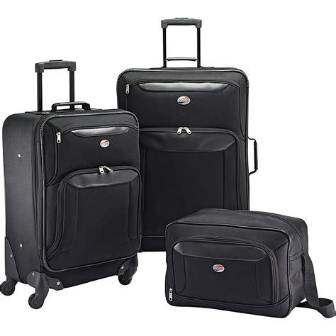 kalica set 2colour american tourister brookfield 3pc set 2 colors luggage set