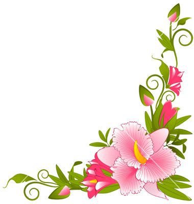 flower borders | clipart panda free clipart images