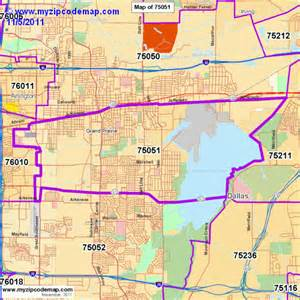 zip code map of 75051 demographic profile residential
