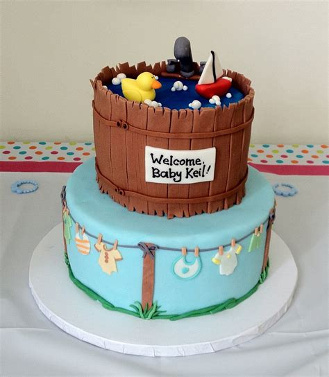 Baby Shower Tub by Baby Shower Tub Cake Cakecentral