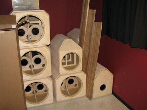 home theater subwoofer enclosure design  ideas