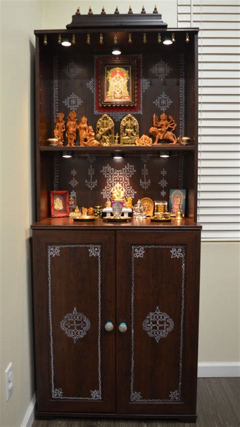 pooja room cabinet designs that corner where god resides hacks diy ikea hack and puja room