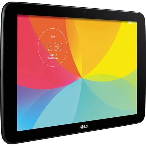 Tablet Lg lg 16gb g pad 10 1 quot wi fi tablet black lgv700 ausabk b h