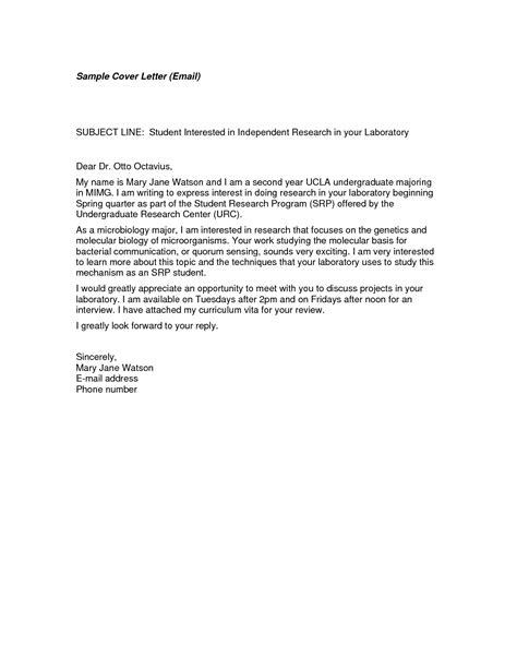 Cover Letter Email Format by Cover Letter Format Email Best Template Collection