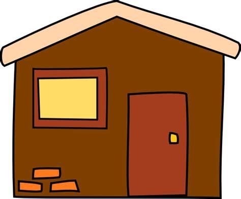 haus braun brown house clip at clker vector clip