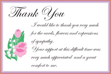 thank you notes thank you note template image collections professional