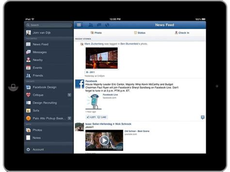 building design app for ipad objective c building ios app with facebook twitter like
