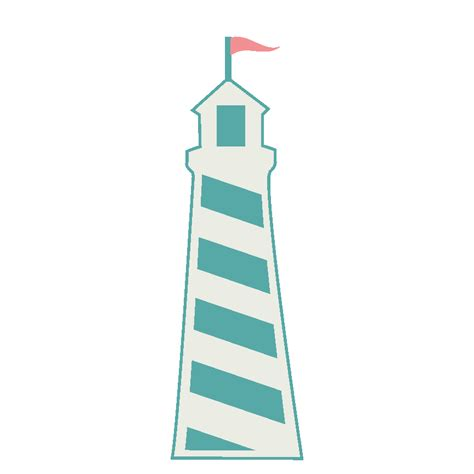 lighthouse svg die cut cutting file for scrapbooking and