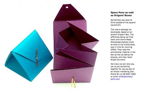 Paper Triangles Origami - origami triangle pouch paper bags