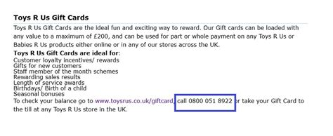 Can I Use A Toysrus Gift Card Online - toys r us uk customer service contact number 0162 841 4168
