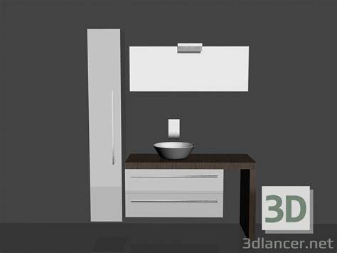 the bathroom song 3d model modular system for bathroom song 6 manufacturer eurolegno id 14973