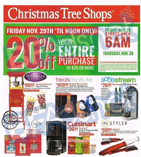 best black friday christmas tree deals tree shops black friday 2013 ad find the best tree shops black friday