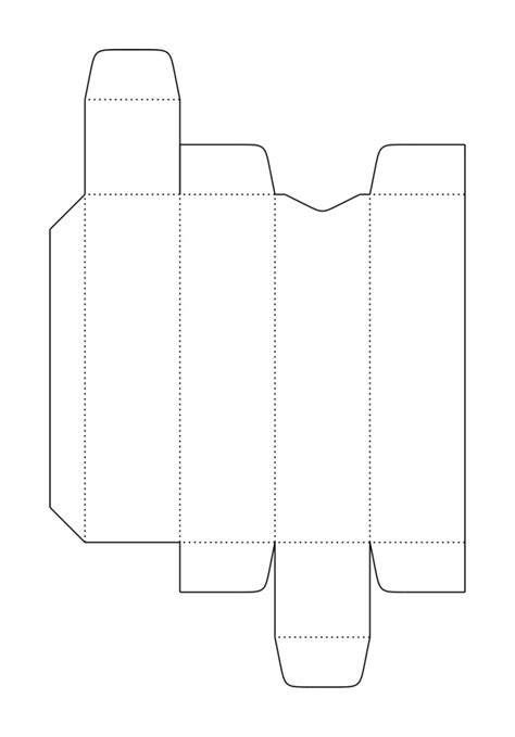 template for packaging patterns templates