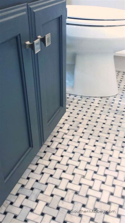 Marble basketweave tile from lowe s comes in 12x12 sheets flooring pinterest marbles