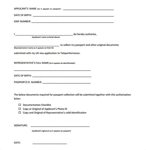 authorization letter format for nbi clearance sle of authorization letter for claiming nbi clearance