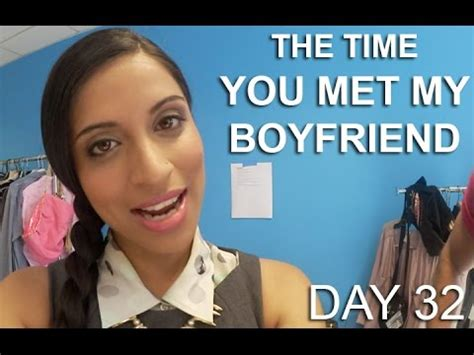 the time you met my boyfriend (day 32) youtube