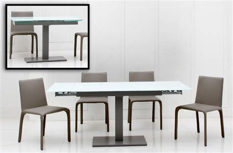 contemporary extendable dining table taste modern extendable dining table