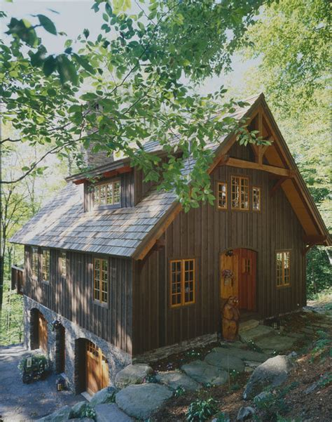hillside garage plans timberpeg carriage house