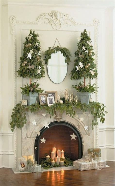 christmas fireplace decorating ideas gorgeous fireplace mantel christmas decoration ideas