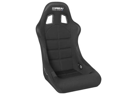 corbeau forza racing seat corbeau forza sport seat in black cloth