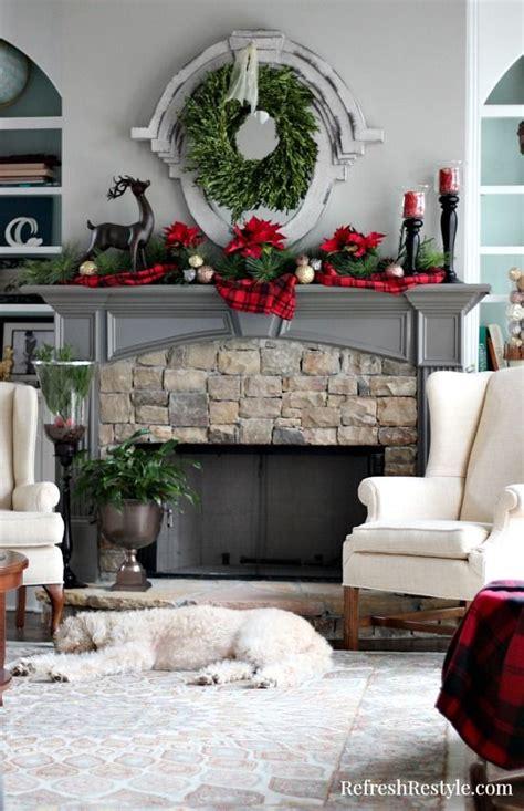 remodelaholic affordable plaid and buffalo check home budget friendly christmas decor ideas plaid decor and plaid