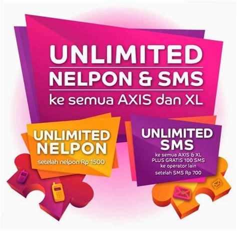Nomor Cantik Xl Gratis Nelpon Sepuasnya 3 ar celluler paket nelpon dan sms unlimited axis 2014