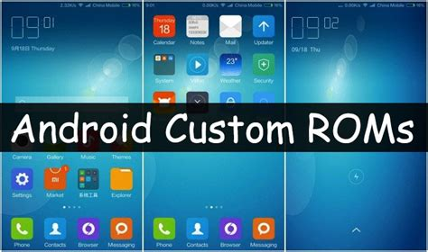 android roms top 10 best android custom roms 2017