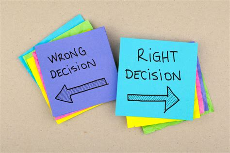 what did we what did we do decisions in large organizations books a big decision when you re not sure what s right