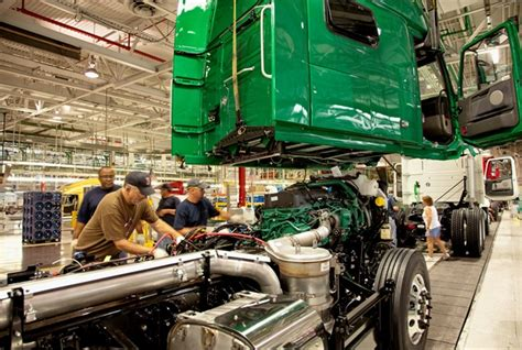 volvo truck manufacturing orders for heavy medium duty trucks post march gains
