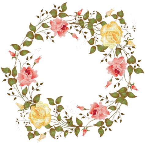 roses circle frame, frame picmix