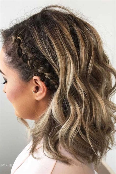 short hairstyles for homecoming 2018 popular cute hairstyles for short hair for homecoming