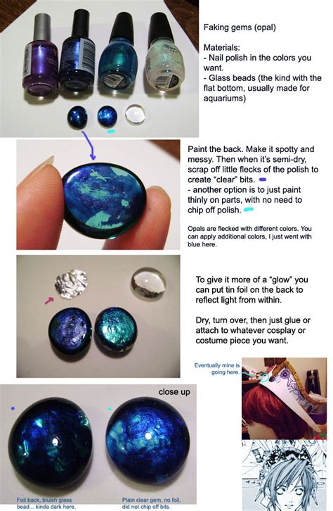 cosplay tutorials making gems and jewels alice in