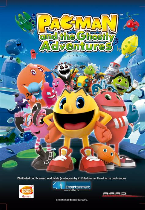 Pac And The Ghostly Adventures My Busy Book image pacman poster 41 entertainment png pac wiki fandom powered by wikia