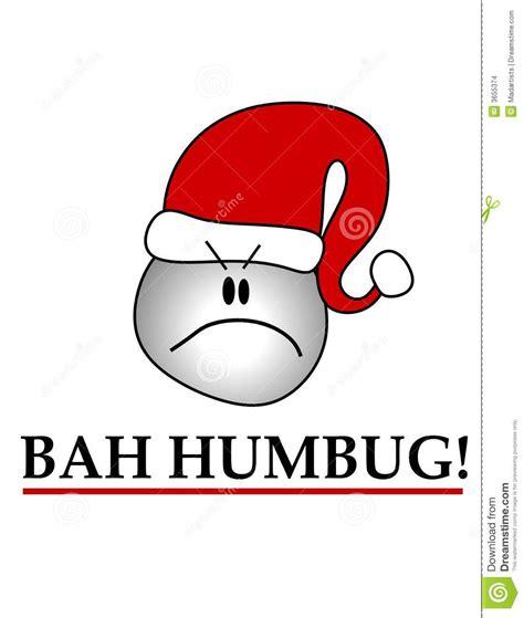 Bah Humbug Clipart bah humbug smiley wearing hat stock illustration image