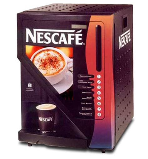 Mesin Coffee Vending nescafe lioness the best vending machine of all time