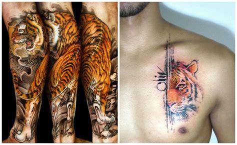imagenes de tatuajes de garras de tigres im 225 genes de los mejores tatuajes de tigres que te inspirar 225 n