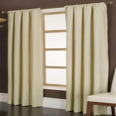 64 Inch Curtains Curtains 64 Inch Length Rod Pocket Thermal Insulated Blackout Curtain 64 Inch Length Pair Ebay