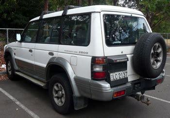 old car repair manuals 1996 mitsubishi montero seat position control mitsubishi pajero 4wd wagon