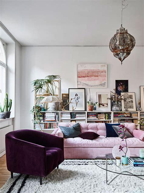 home tour bohemian feminine interior design ideas
