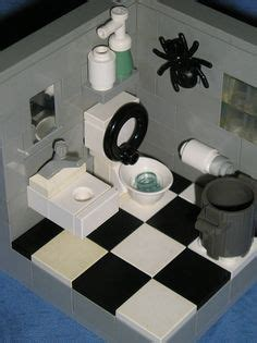 tutorial lego guest bathroom 1000 images about lego furniture on pinterest lego