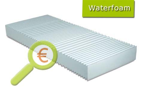 materasso waterfoam materassi waterfoam opinioni e prezzi