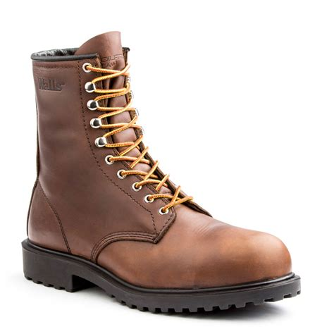 walls s 8 quot lace up daxton work boot wide widths