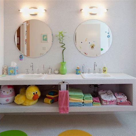 Toddler Bathroom Ideas by 30 Really Cool Kids Bathroom Design Ideas Kidsomania