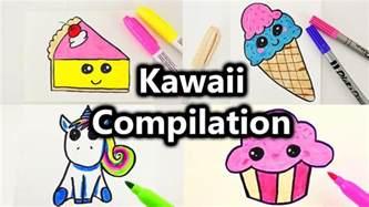 kuchen malen kawaii malen compilation s 252 223 e bilder zeichnen kawaii