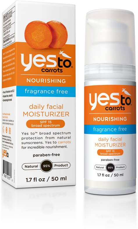Yes To Carrots by Yes To Carrots Fragrance Free Daily Moisturizer