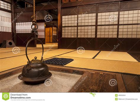 japanese home interior traditional japanese home interior with hanging tea pot