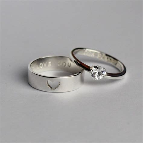 zanele muholi promise and wedding gifts couple ring set his and her promise rings boyfriend gift
