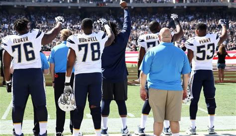 s day football player nfl player protests see what teams and players joined